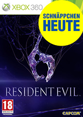 Resident Evil 6  uncut PEGI Version Cover Packshot