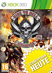Ride to Hell: Retribution uncut PEGI Cover