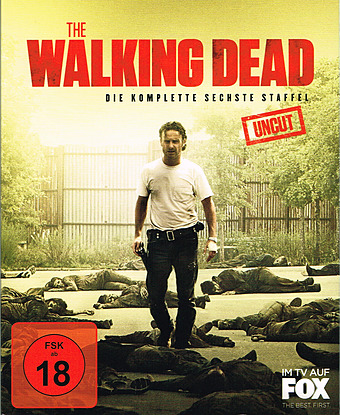 The Walking Dead - Die komplette 6. Staffel uncut Cover