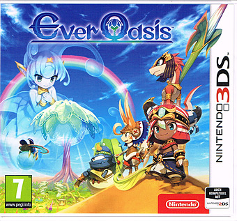 Ever Oasis Cover