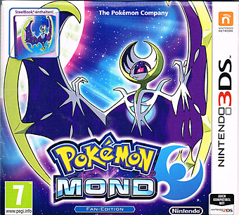 Pokemon Sonne & Mond Cover Packshot