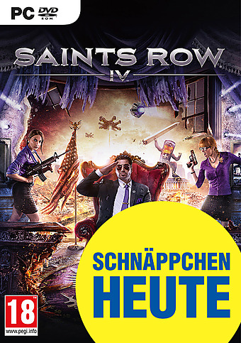Saints Row 4 AT-PEGI Cover Packshot