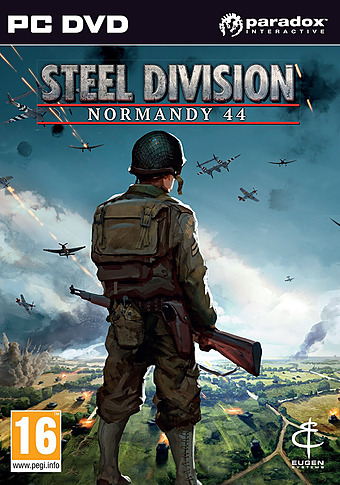 Steel Division - Normandy 44 Cover