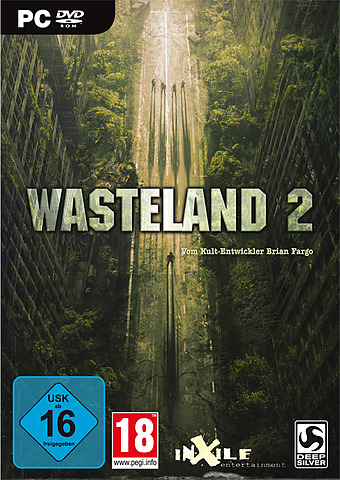 Wasteland 2 uncut PEGI Cover Packshot