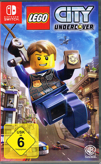 LEGO City: Undercover Cover