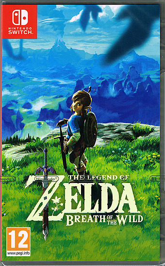 The Legend of Zelda: Breath of the Wild Cover Packshot