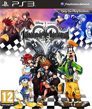 Kingdom Hearts HD 1.5 ReMIX PS3 Cover
