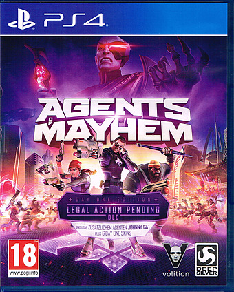 Agents of Mayhem D1 Edition  AT-PEGI Cover