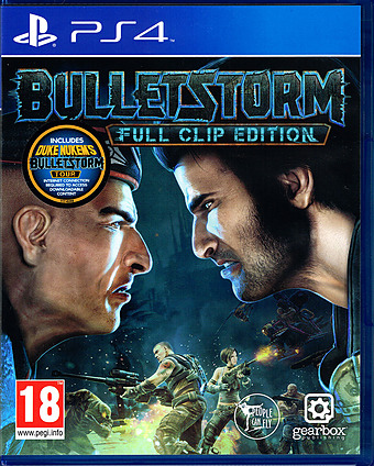 Bulletstorm Full Clip Edition uncut AT-PEGI Cover Packshot