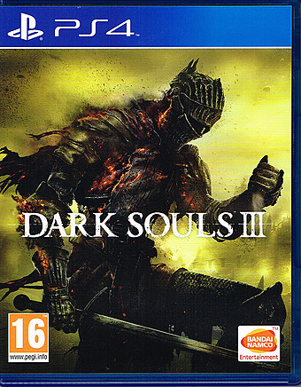 Dark Souls 3 uncut AT-PEGI Cover