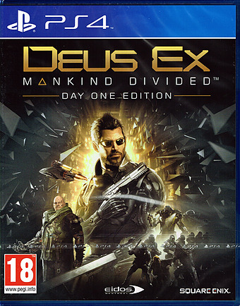 Deus Ex: Mankind Divided AT-PEGI Cover