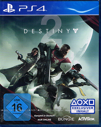 Destiny 2 uncut AT-PEGI Cover