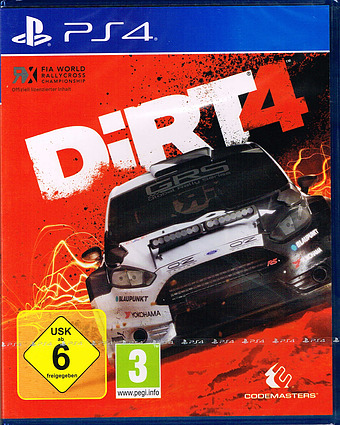 Dirt 4 AT-PEGI Cover