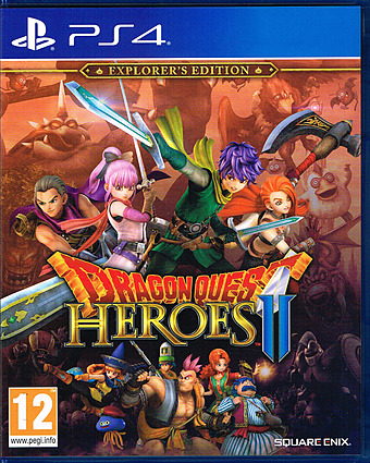 Dragon Quest - Heroes 2 Cover