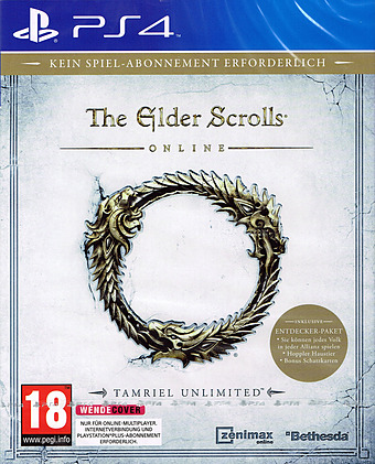 The Elder Scrolls Online Tamriel Unlimited uncut AT-PEGI Cover