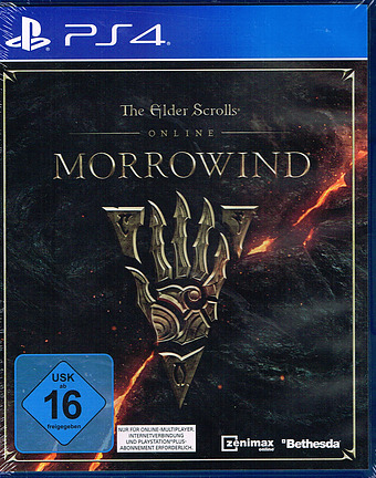 The Elder Scrolls Online: Morrowind + 5 DLCs AT-PEGI Cover