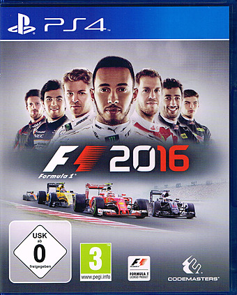 F1 2016 Limited Edition AT-PEGI Cover