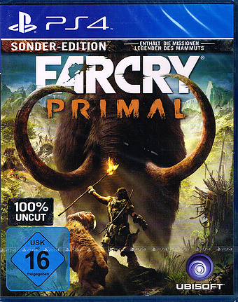 Far Cry Primal Special Day 1 Edition AT-PEGI Cover