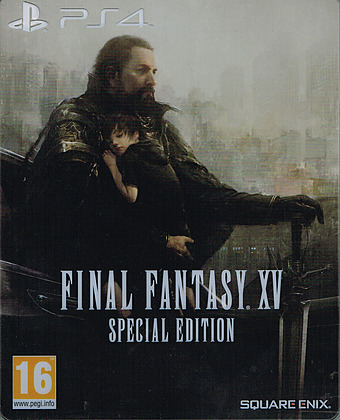 Final Fantasy XV Steelbook Edition AT-PEGI Cover