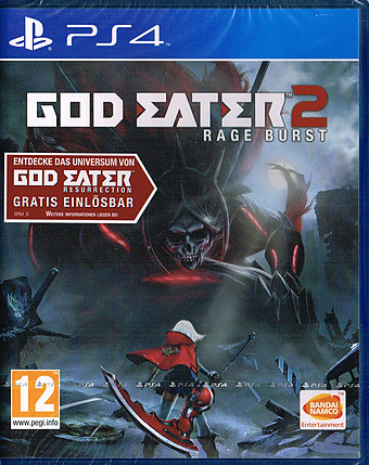 God Eater 2: Rage Burst uncut AT-PEGI Cover