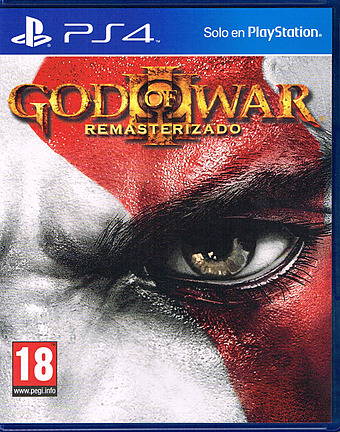 God of War 3 Remastered Edition uncut PEGI Cover