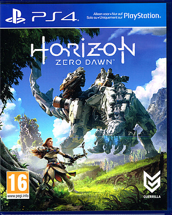 Horizon: Zero Dawn Uncut Cover Packshot