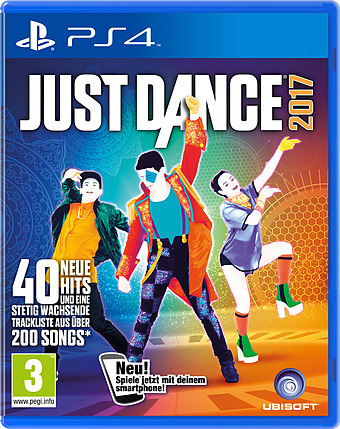 Just Dance 2017 AT-PEGI Cover