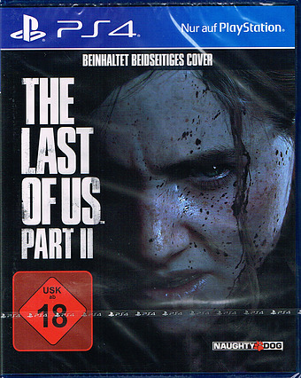 The Last of Us 2 uncut AT-PEGI Cover Packshot