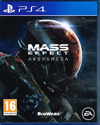 Mass Effect Andromeda Uncut AT-PEGI Cover