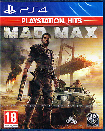 Mad Max PEGI Cover Packshot