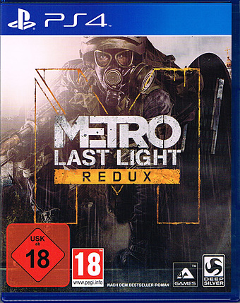 Metro Last Light Redux uncut AT-PEGI Cover
