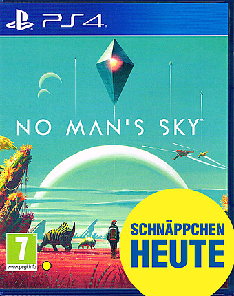 No Man's Sky PEGI Cover