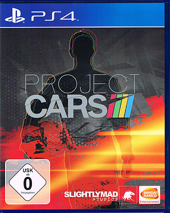 Project Cars uncut PEGI Cover Packshot