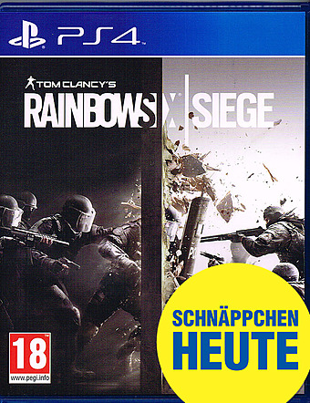 Tom Clancy's Rainbow Six: Siege Steelbook D1 AT-PEGI Cover