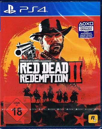Red Dead Redemption 2  uncut AT-PEGI Cover