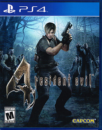 Resident Evil 4 HD uncut Cover