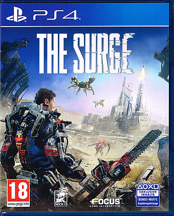 The Surge uncut AT-PEGI Cover