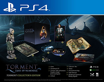 Torment: Tides of Numenera Collectors Edition uncut AT-PEGI Cover Packshot