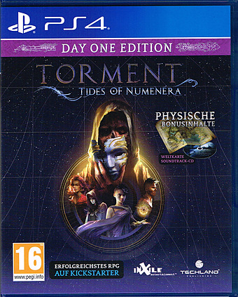 Torment: Tides of Numenera D1 Edition + Steelbook uncut Cover