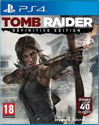 Tomb Raider Definitive Edition Cover Packshot PlayStation 4