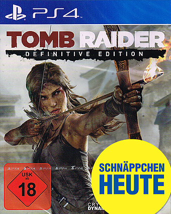 Tomb Raider Definitive Edition uncut Cover Packshot