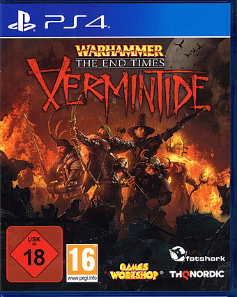 Warhammer: End Times Vermintide Uncut AT-PEGI Cover