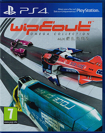 Wipeout Omega Collection AT-PEGI Cover