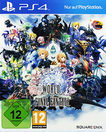 World of Final Fantasy Day 1 Edition Cover