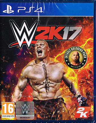WWE 2K17 Cover Packshot