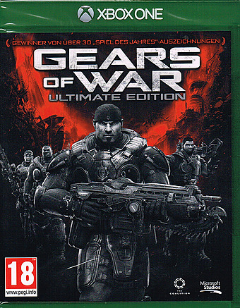 Gears of War Ultimate Edition AT-PEGI Cover