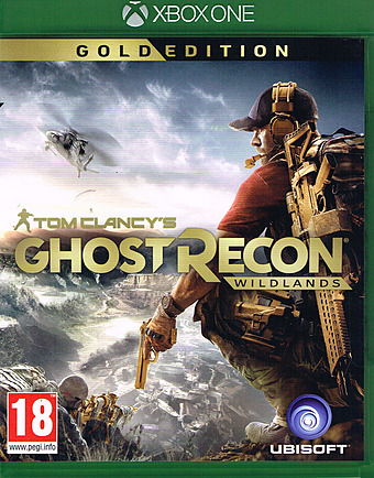 Tom Clancys Ghost Recon Wildlands Gold Edition Uncut AT-PEGI Cover
