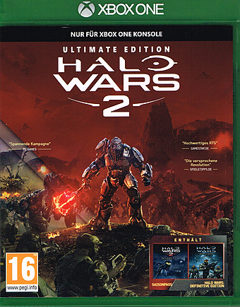 Halo Wars 2 Ultimate Edition uncut AT-PEGI Cover