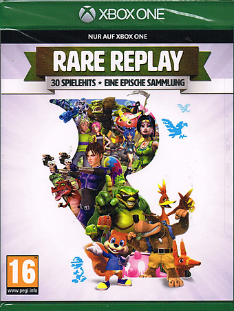 Rare Replay AT-PEGI Cover Packshot