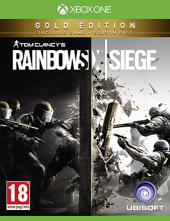 Tom Clancys Rainbow Six: Siege Gold Edition AT-PEGI Cover